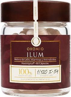 Ilum de OXOMIO - Focus, nootrópico para impulso mental (60 cápsulas) - Naturalmente estimula y energiza la mente para alto...