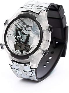 ساعة ستار وورز بعرض رقمي واضاءة ليد للاولاد من لوكاس - SA7175 Star Wars-F