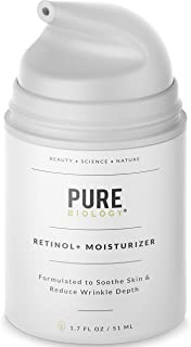 Premium Retinol Cream Face Moisturizer with Hyaluronic Acid, Vitamin A, B, C & E, Jojoba Oil & Breakthrough Anti Aging Complexes – Face and Eye Skin Care for Men & Women