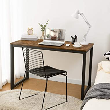 HOOBRO Computer Desk, Home Office Writing Desk, Industrial Simple Style PC Laptop Study Table in Living Room, Bedroom, Sturdy