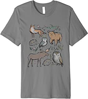 a66d7f81233 FoxCove  Woodland Animal Cute Premium Comfort shirt