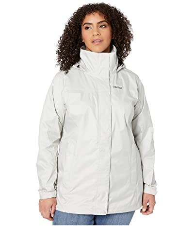Marmot Plus Size PreCip(r) Eco Jacket (Platinum) Women