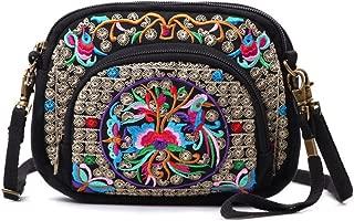 Vintage Handmade Women Mini Crossbody Bag Cellphone Pouch Small Handbag Coin Purse