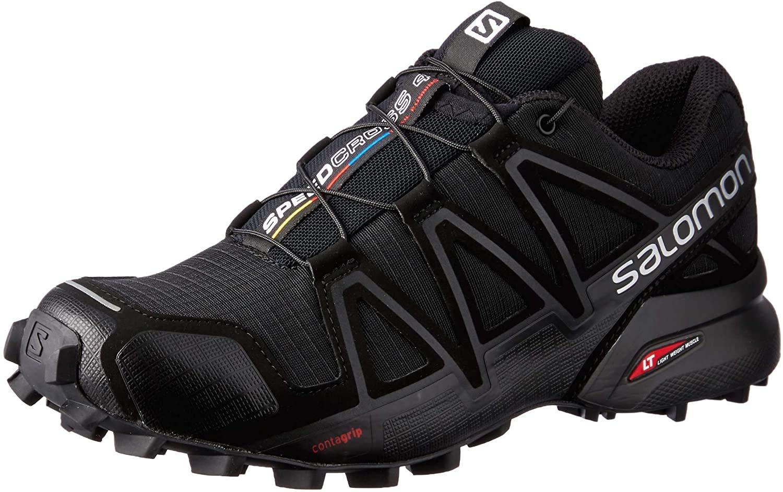 Salomon Damen Speedcross 4 W Traillaufschuhe, Schwarz Black Black Black Metallic