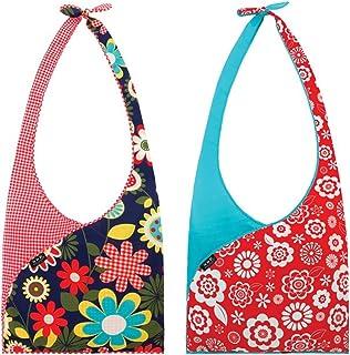 Envirosax Set of 2 Slingsax Bags, Gingham & Blue by Envirosax