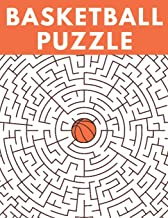 Basketball Puzzle: Easy To Do Basketball Activity Books For Kids 9-12 Very Unique Basketball Gifts For Boys 6-12