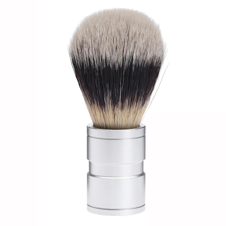 遠足情報エンディングDophee  シェービング用ブラシ シェービングブラシ メンズ 洗顔ブラシ イミテーションアナグマ毛 ファイン模倣 理容 洗顔 髭剃り