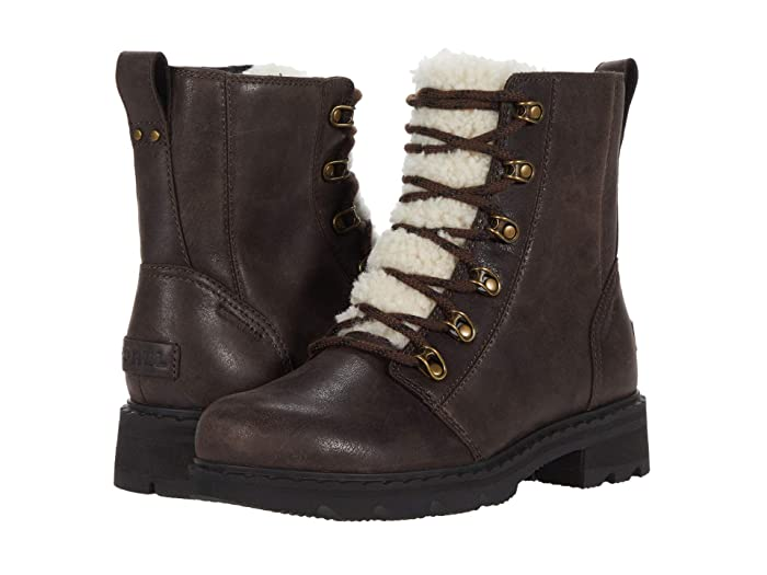 Vintage Boots- Buy Winter Retro Boots SOREL Lennoxtm Lace Cozy Blackened Brown Womens Boots $199.95 AT vintagedancer.com