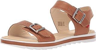 MARC JOSEPH NEW YORK Kids Boys/Girls Leather Made in Brazil Buckle Sandal Loafer