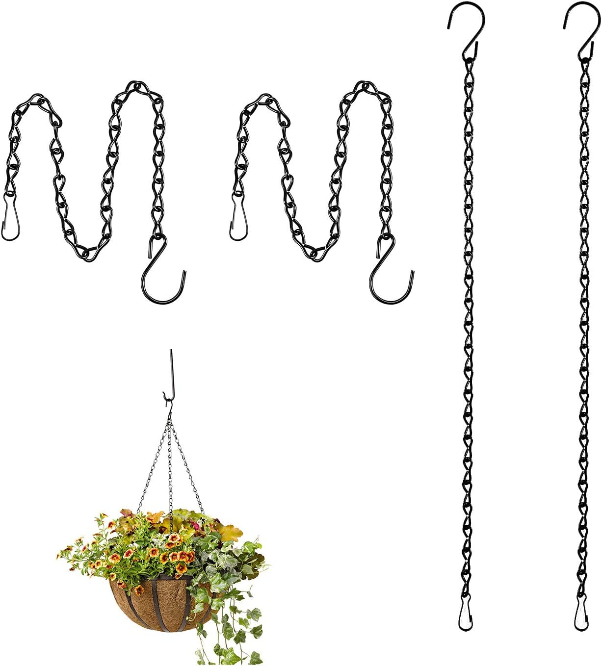 Lainrrew 4 Pcs Hanging Garden Max 61% OFF Plant Popular brand in the world Flowe Chains