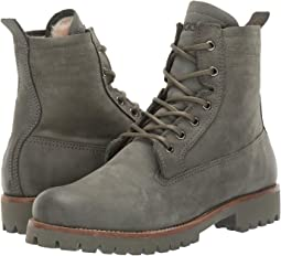 Lace-Up Sheepskin Boot