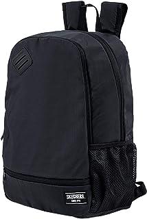 Mochila Hombre Grande Ideal para Ordenador Portátil 17 Pulgadas con Bolsillo Interior iPad Tablet Ideal para Uso Diario, Práctica Cómoda Versátil S892, Color Negro