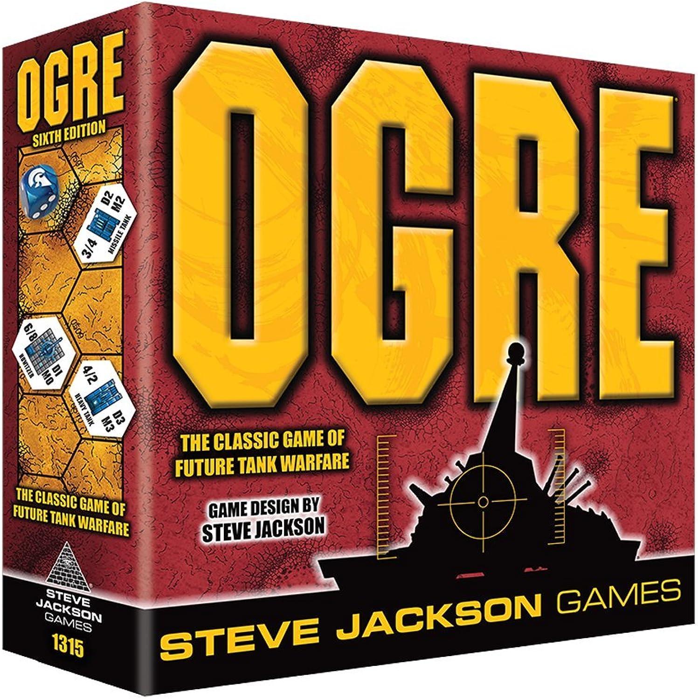 últimos estilos Steve Steve Steve Jackson Juegos sjg01315 Ogre 6th Edition Juego de Cochetas  Con 100% de calidad y servicio de% 100.