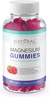 Sponsored Ad - Sugar Free Magnesium Gummies - 180 Gummies, Calming Anti-Stress Gummies, Magnesium Supplement for Kids and ...