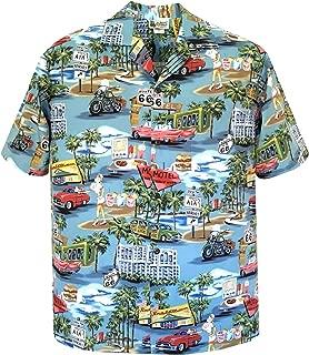 Vintage Route 66 Men's Hawaiian Shirt – Made in Hawaii USA