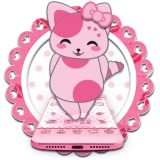 Cute Pink Kitten Blush Rose Theme