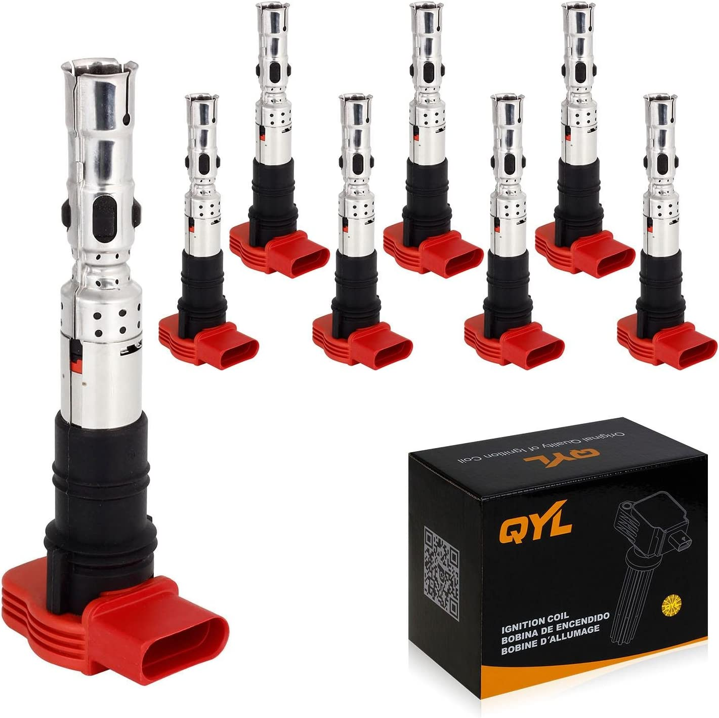 8Pcs Ignition Coil Pack Replacement Free shipping on posting reviews for Touareg Quattro Special sale item Qu A6 A8