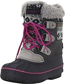 حذاء لندن فوغ للفتيات توتنهام للطقس البارد مبطن بالثلج