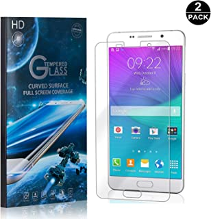 Galaxy A7 2016 Screen Protector Tempered Glass, Bear Village® Perfect Fit & Anti Fingerprint HD Screen Protector Film for Samsung Galaxy A7 2016-2 Pack