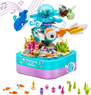 MusicBox Building Toys for Girls and Boys 6 7 8 9 10 11 12+ Year Old - Personalized Gifts for Kids Age 6-12 8-14, STEM Pro...