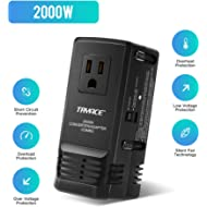 TRYACE 2000W Travel Voltage Converter Step Down 220V to 110V, Travel Power Converter Adapter...