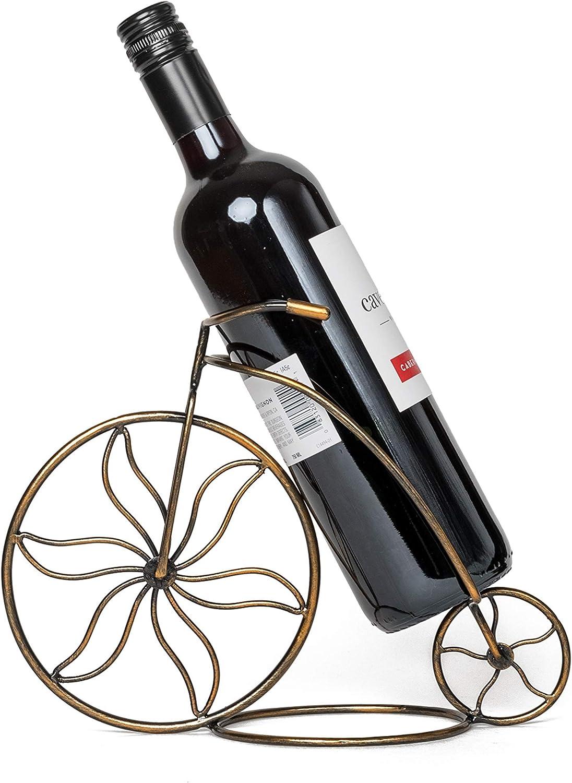 1 Bottle wills Countertop Bicycle Wine Rack