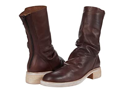 Free People Sutton Tight Slouch Boot (Chocolate) Women