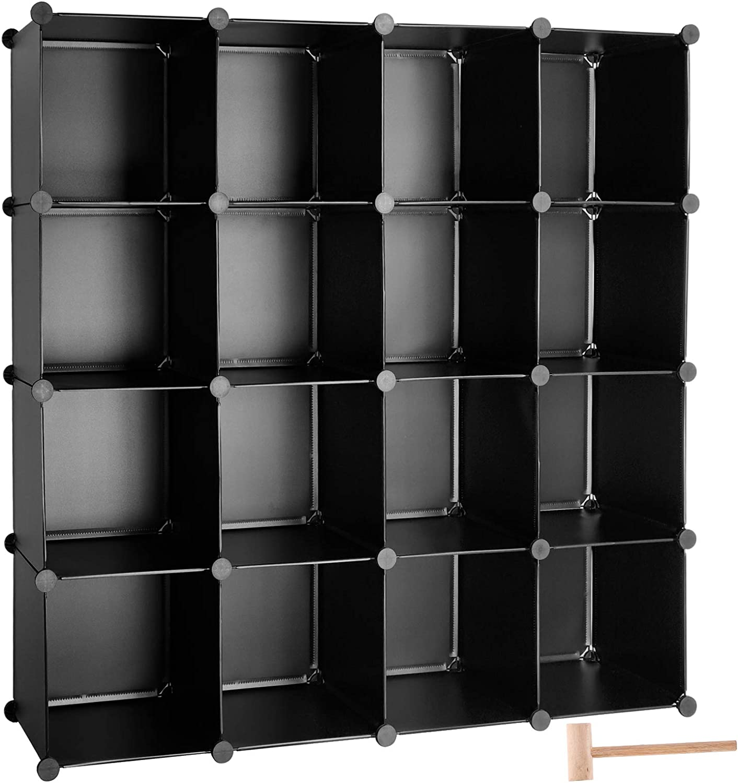 TUMUCUTE Cube Storage Organizer online shop 16-Cube Closet DIY Cabi Plastic Daily bargain sale
