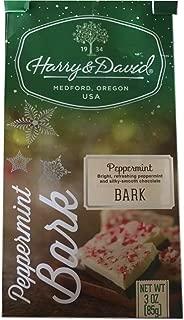Harry Davids Peppermint Bark Holiday Chocolate Treat 3oz Bag