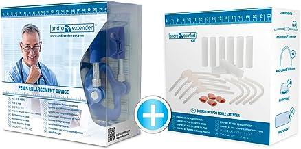Androextender Comfort Penis Extender med som gåva: Androcomfort. Medicinsk Penisförstoringsapparat & Förstorare för att ök...