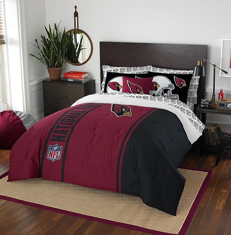 叫ぶコモランマ慎重NFL新しいEngland Patriotsソフト& Cozy 7ピースフルサイズBed in aバッグセット