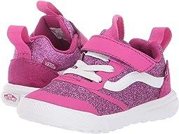 (Glitter Textile) Pink/True White