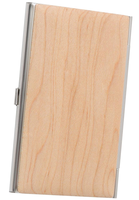 [High-end] 木製 名刺入れ カードケース メンズ レディース ME0145_b