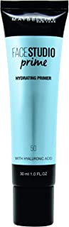 Maybelline New York Master Prime Hydration Face Foundation Primer - 30 ml, Transparent 50