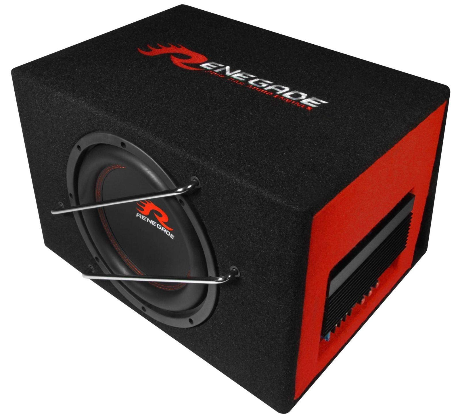 Audio Design RXV1000A subwoofers 200 W Altavoz de subgraves (subwoofer) activo Negro, Rojo: Amazon.es: Electrónica