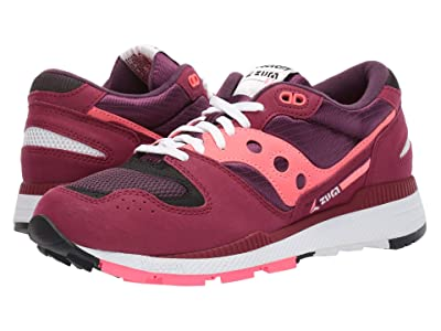 Saucony Originals Azura (Maroon/Pink) Men