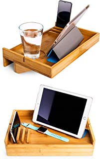 Bamboo Bedside Shelf | Floating Shelf for College Dorms | Small Bedrooms | Bunk beds | Tiny House | Small Spaces | Boats