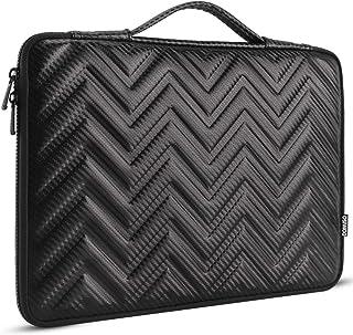 "DOMISO 13.3 inch Laptop Sleeve Portable Carrying Bag Shockproof Waterproof Soft EVA Handbag Briefcase for 13""MacBook Pro/M..."