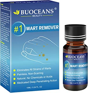 Wart Treatment, Wart Removal Treatment, Painless Removal of Plantar, Common Warts and Infections, Promotes The Healing of Calluses and Corns(10ml)