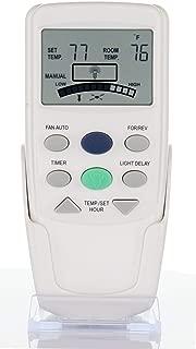 Anderic Replacement FAN-9T with Reverse Key Thermostatic Remote Control for Hampton Bay Ceiling Fans - FAN9T (FCC ID: L3HFAN9T, PN: FAN9TR, Works Receiver FAN10R, FAN-10R)