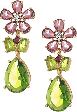 Kate Spade New York - In Full Bloom Cluster Drop Earrings