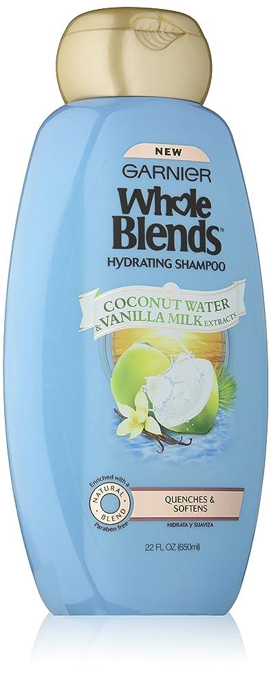 Garnier Whole Blends Shampoo with Coconut Water & Vanilla Milk Extracts, 22 fl. oz.