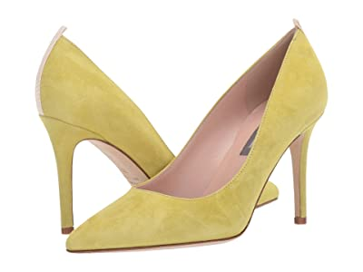 SJP by Sarah Jessica Parker Fawn 90mm (Rish Suede) Women