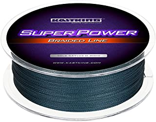 KastKing SuperPower Braided Fishing Line - Abrasion...