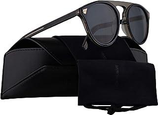 33fbc853bda1 Christian Dior Homme DiorTailoring2 Sunglasses Havana Blue w Blue Avio  Mirror Lens 52mm IPRKU Dior
