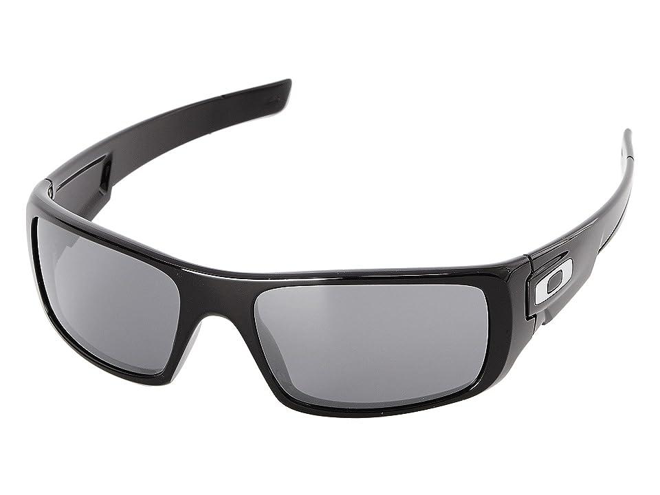 Oakley Crankshaft (Black Iridium w/ Polished Black) Fashion Sunglasses