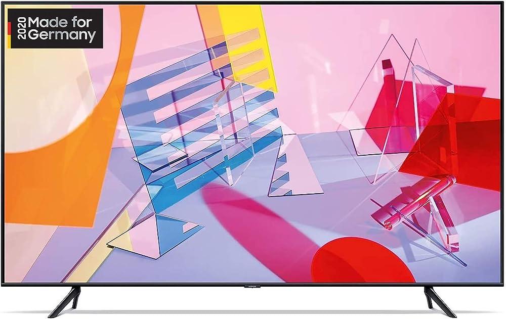 Samsung tv 85 pollici 4k ultra hd smart tv wi-fi qled, smart tv GQ85Q60TGUXZG