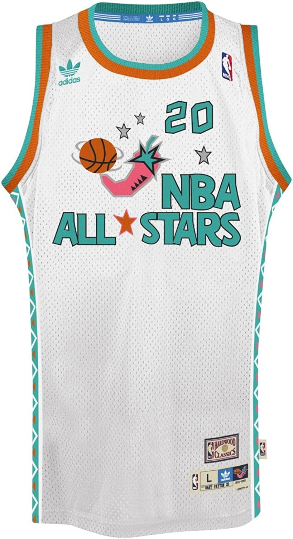 Adidas Gary Payton NBA Throwback 1995All-Star, West Swingman Jersey–wei