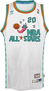 Gary Payton NBA Throwback 1995 All-Star West Swingman Jersey - White