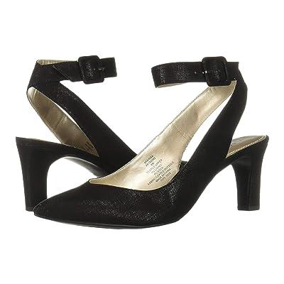Anne Klein Kaisa (Black Fabric) High Heels